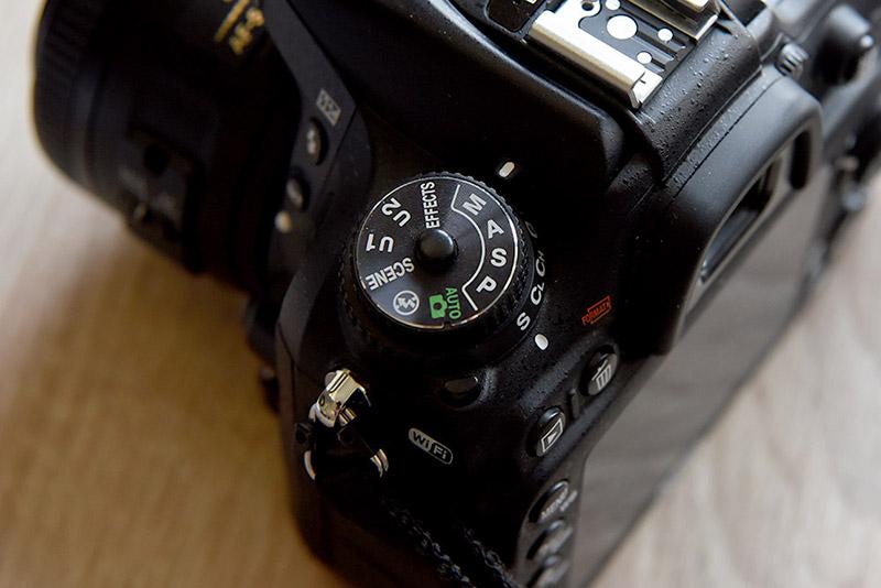Blende Modus Kamera